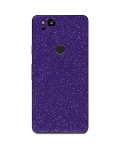 Diamond Purple Glitter Google Pixel 2 Skin