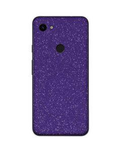 Diamond Purple Glitter Google Pixel 3a XL Skin
