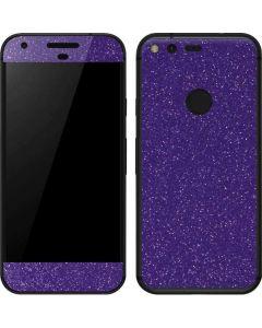 Diamond Purple Glitter Google Pixel XL Skin