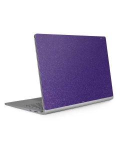 Diamond Purple Glitter Surface Book 2 13.5in Skin