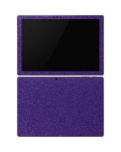 Diamond Purple Glitter Surface Pro 6 Skin