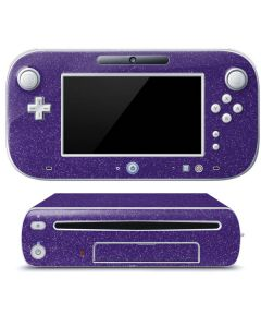 Diamond Purple Glitter Wii U (Console + 1 Controller) Skin