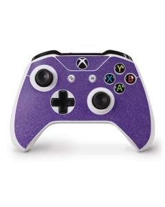 Diamond Purple Glitter Xbox One S Controller Skin