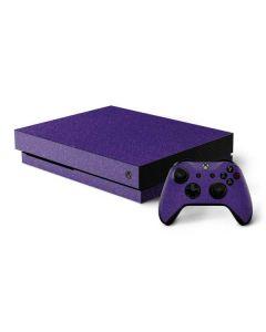 Diamond Purple Glitter Xbox One X Bundle Skin