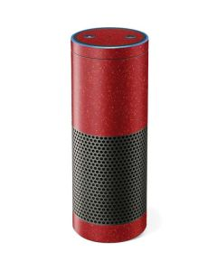 Diamond Red Glitter Amazon Echo Skin