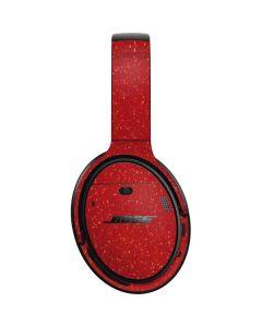 Diamond Red Glitter Bose QuietComfort 35 II Headphones Skin