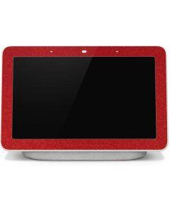 Diamond Red Glitter Google Home Hub Skin