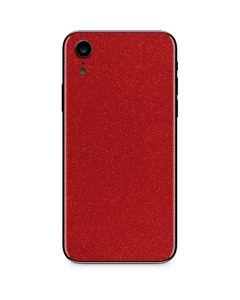 Diamond Red Glitter iPhone XR Skin
