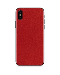 Diamond Red Glitter iPhone XS Max Skin