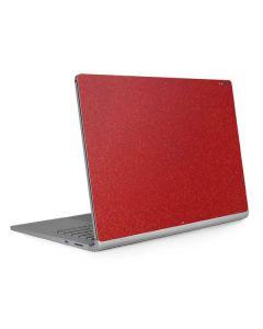 Diamond Red Glitter Surface Book 2 13.5in Skin
