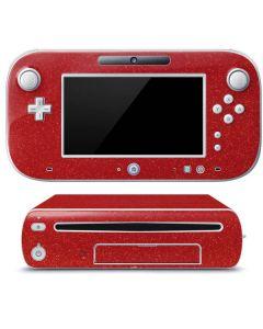 Diamond Red Glitter Wii U (Console + 1 Controller) Skin