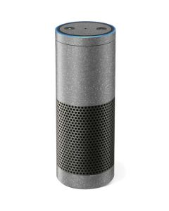 Diamond Silver Glitter Amazon Echo Skin