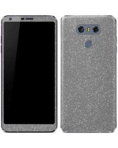Diamond Silver Glitter LG G6 Skin