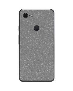 Diamond Silver Glitter Google Pixel 3 XL Skin