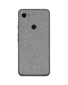 Diamond Silver Glitter Google Pixel 3a Skin