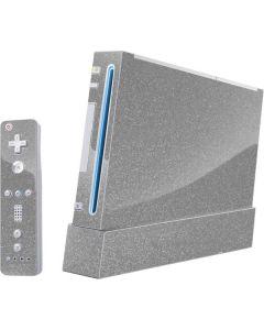 Diamond Silver Glitter Wii (Includes 1 Controller) Skin