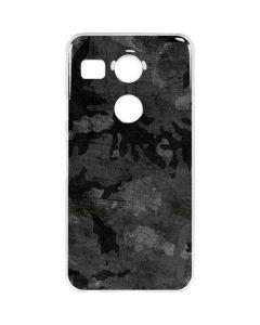 Digital Camo Google Nexus 5X Clear Case