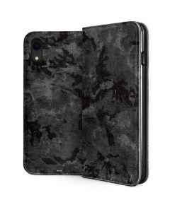 Digital Camo iPhone XR Folio Case