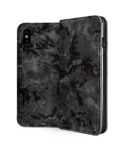 Digital Camo iPhone XS Folio Case