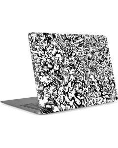 Dissolution - Black Apple MacBook Air Skin