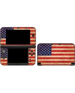 Distressed American Flag 3DS XL 2015 Skin
