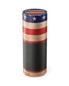 Distressed American Flag Amazon Echo Skin