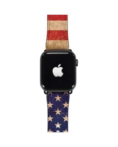 Distressed American Flag Apple Watch Band 42-44mm