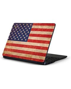 Distressed American Flag Samsung Chromebook Skin