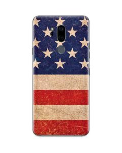 Distressed American Flag G7 ThinQ Skin