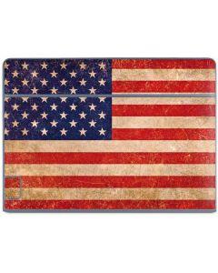 Distressed American Flag Galaxy Book Keyboard Folio 10.6in Skin