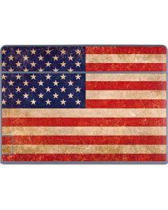 Distressed American Flag Galaxy Book Keyboard Folio 12in Skin
