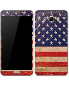 Distressed American Flag Galaxy J7 Skin