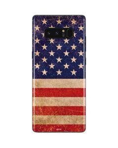 Distressed American Flag Galaxy Note 8 Skin
