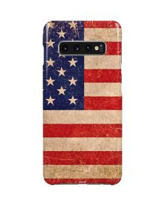 Distressed American Flag Galaxy S10 Plus Lite Case