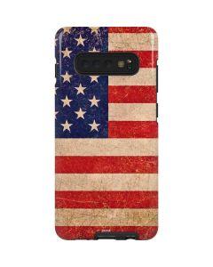 Distressed American Flag Galaxy S10 Plus Pro Case