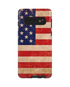 Distressed American Flag Galaxy S10 Pro Case