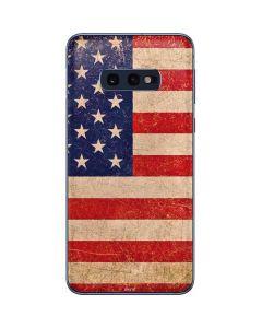 Distressed American Flag Galaxy S10e Skin