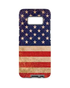 Distressed American Flag Galaxy S8 Pro Case
