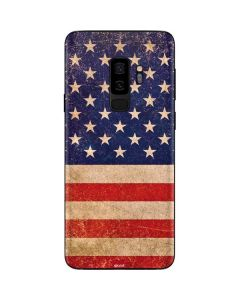 Distressed American Flag Galaxy S9 Plus Skin