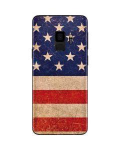 Distressed American Flag Galaxy S9 Skin