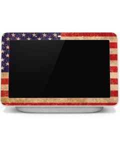 Distressed American Flag Google Home Hub Skin