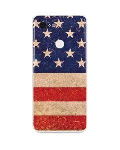 Distressed American Flag Google Pixel 3 Skin