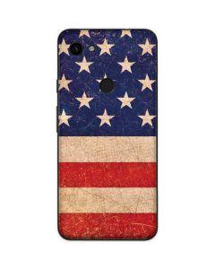 Distressed American Flag Google Pixel 3a XL Skin