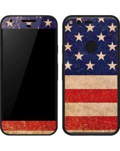 Distressed American Flag Google Pixel Skin