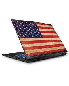 Distressed American Flag GP62X Leopard Gaming Laptop Skin