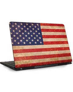 Distressed American Flag Dell Inspiron Skin