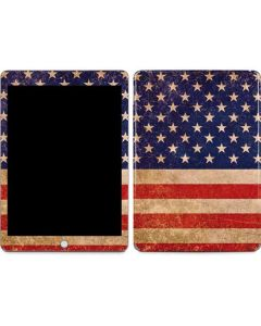 Distressed American Flag Apple iPad Skin