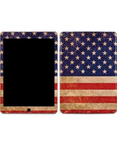 Distressed American Flag Apple iPad Air Skin