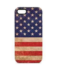 Distressed American Flag iPhone 5/5s/SE Pro Case