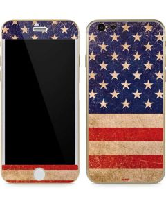 Distressed American Flag iPhone 6/6s Skin